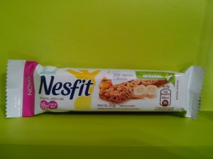 Barrinha de cereal - NESFIT